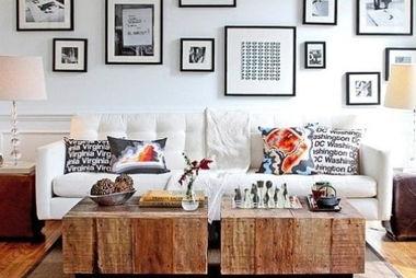 16款展示装饰 墙面精彩悬挂画设计