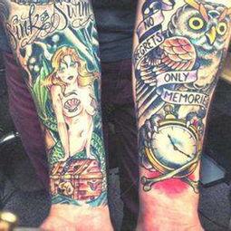 鬼姬纹身图片,日本鬼姬纹身花臂,鬼姬纹身手稿 第2页