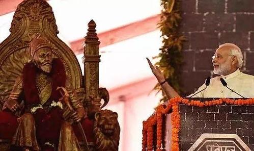 12月24日,印度总理莫迪在奠基仪式上发表讲话.(