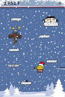 你最应该拥有的iPhone精品游戏 Doodle Jump