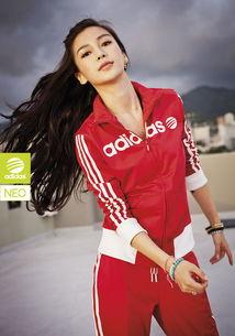 彭于晏Angelababy代言adidas NEO Label 2013新品