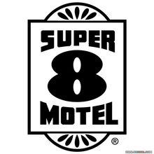 大饭店标志58 Super 8 Motel矢量LOGO免费下载