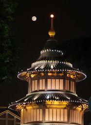 全国各地中秋月亮大赏 十五的月亮十五圆