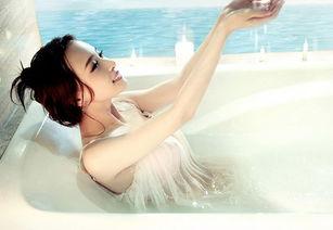 性感美女私密若隐若现浴照 性感美女 美女图片