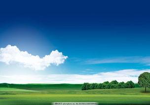 海报天空背景-蓝天