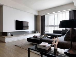 白色电视墙 装修效果图