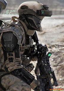 ...科幻大片 普通士兵变身未来战士