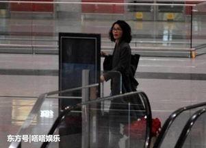 王菲机场喊谢霆锋