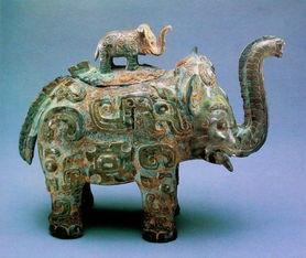 象尊,商代,现藏于美国弗利尔美术馆