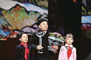 黄大发入选感动中国年度人物颁奖盛典昨晚在央视一套播出
