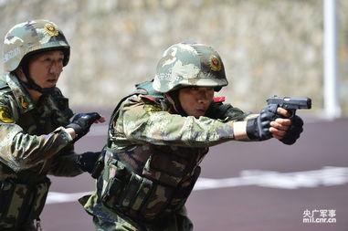 广东精锐军警集训对抗霸气场面6672465