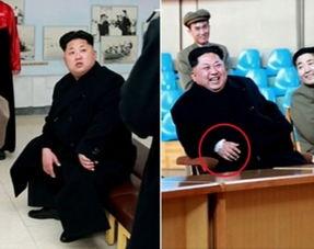 金正恩视察工厂 右手腕贴白纱布疑受伤
