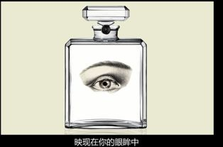 香水广告背景图