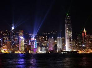 手机版 华灯初上 国外国内香港高清晰建筑城市夜景摄影图