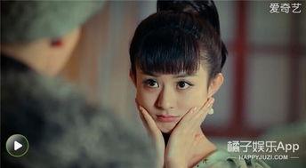 捧着脸花痴,赵丽颖在 老九门 就是陈伟霆的头号迷妹啊