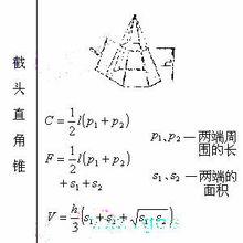 锥形面积公式(锥形的侧面积公式)_1930人推荐