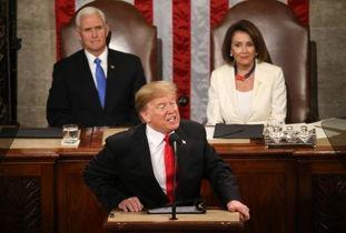 特朗普国情咨文呼吁团结民主党女议员全体唱反调