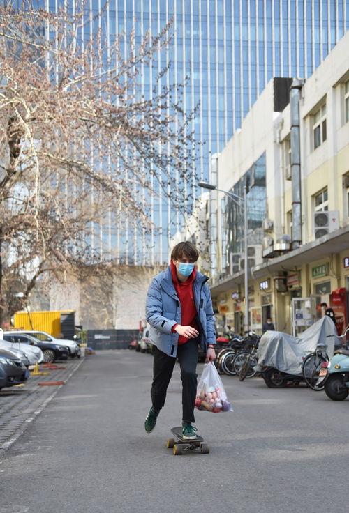 挪威小伙宅在北京
