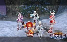 海外美女玩家贺圣诞 性感COS 神魔大陆