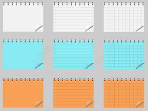 记事本模板免费下载 ai格式 编号13881858 千图网