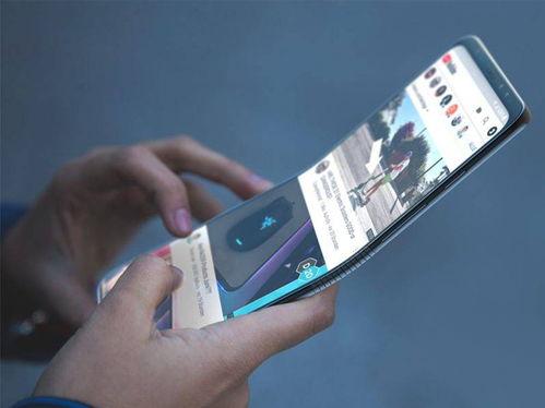 三星新款折叠屏手机概念图