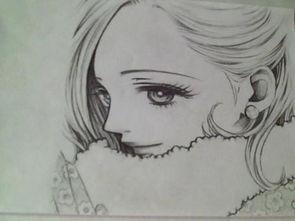 美丽的铅笔画