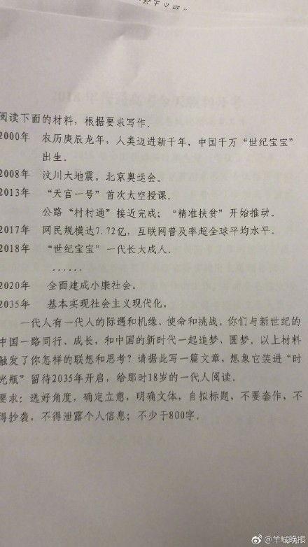 17河北省高考作文范文