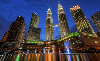 登上双子塔,整个吉隆坡市秀