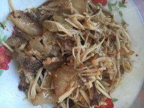 金针菇腊肉做法大全家常菜