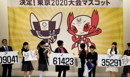 表情热点2020年东京奥运会吉祥物公布满满二次元风表情