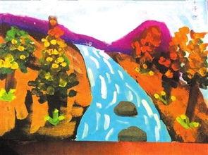 关于秋天的河水的诗句