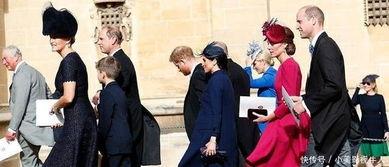 尤金妮公主的婚礼,凯特王妃的屈膝礼和梅根的屈膝礼,差别好大