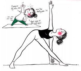 瑜伽现实与想象的差距