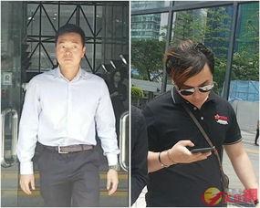 ...(左)及首被告杨子轩(右)(资料)-5男子涉旺角骚乱暴动罪初步...