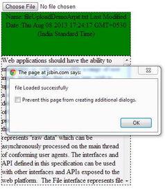 用JavaScript和HTML5创建文件上传器