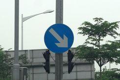 新手们都看过来 解读常见类型交通标志