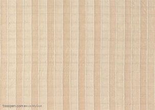 底纹特写 米黄色条形布纹