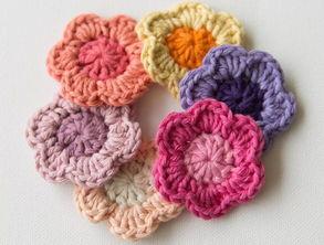 怎样编织小花朵