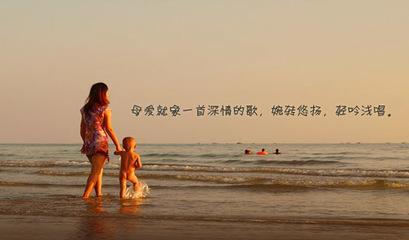 赞美母爱的优美句子仿写