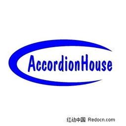 Accordionhouse英文logo设计矢量图 1400051