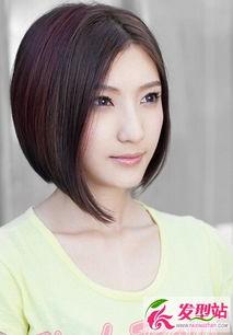 最新女生短发发型