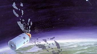 美媒渲染中国反卫星试验想象图