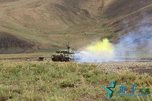 西藏军区某旅赴高海拔地区检验部队战法成果.