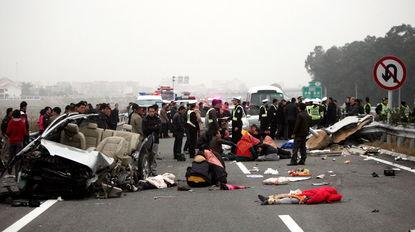 泉州发生特大交通事故一家六口五人亡
