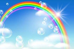 形容彩虹的谚语