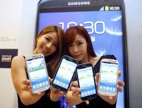 三星新一代旗舰智能手机galaxysⅢ
