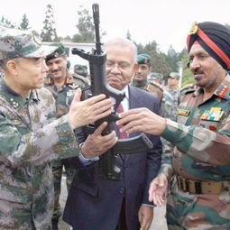 10月13日开始,携手-2015中印陆军反恐联合训练进入混编同训阶段.