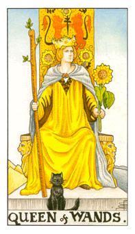 塔罗牌抽到皇后是代表什么(塔罗牌中的女王(正位)是什么含意)