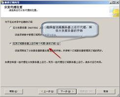数据库代理设置