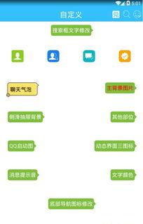 手机QQ怎样更换主题 QQ怎样换主题